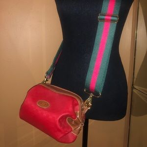 Vintage Gucci crossbody shoulder pocketbook bag